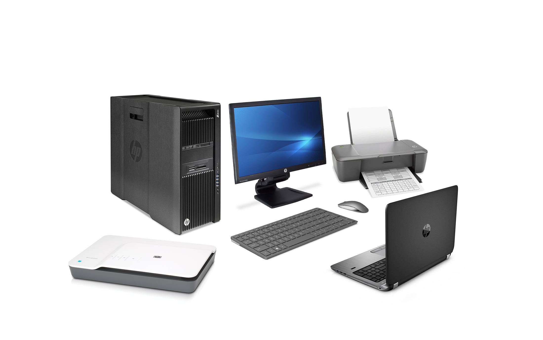 Hewlett-Packard zariadenia